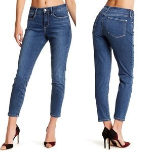 NYDJ Clarissa Stretch Ankle Skinny Jeans High Rise